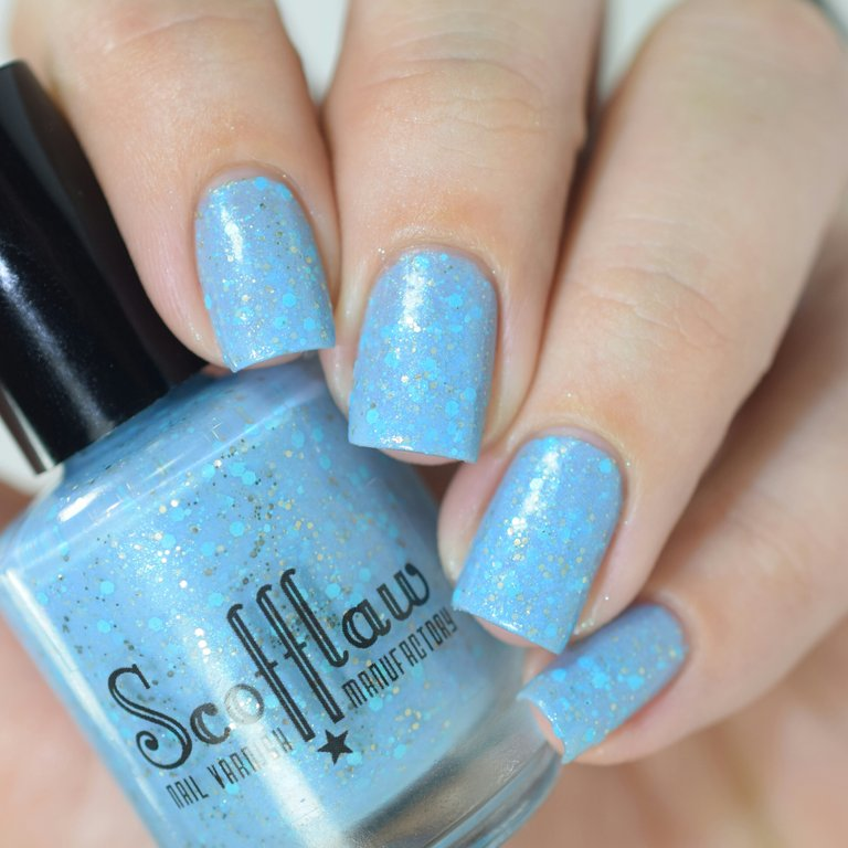 Be Constructive with your Blues - Scofflaw Nail Varnish