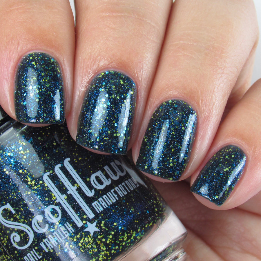 The Slitherclaw Ravenpuffs - Scofflaw Indie Nail Varnish