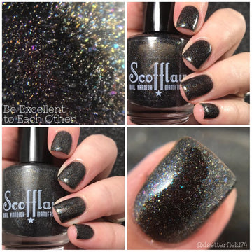 Be Excellent to Each Other - Scofflaw Nail Varnish