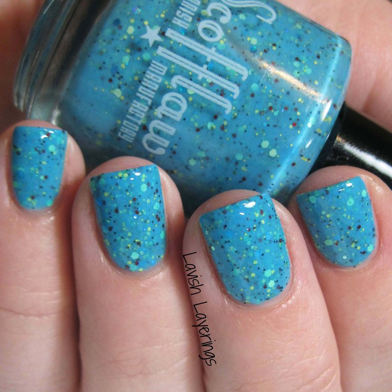 Blue Zombie - Scofflaw Nail Varnish