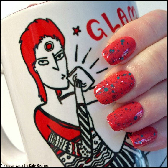 David Bowie's Bulge - Scofflaw Nail Varnish