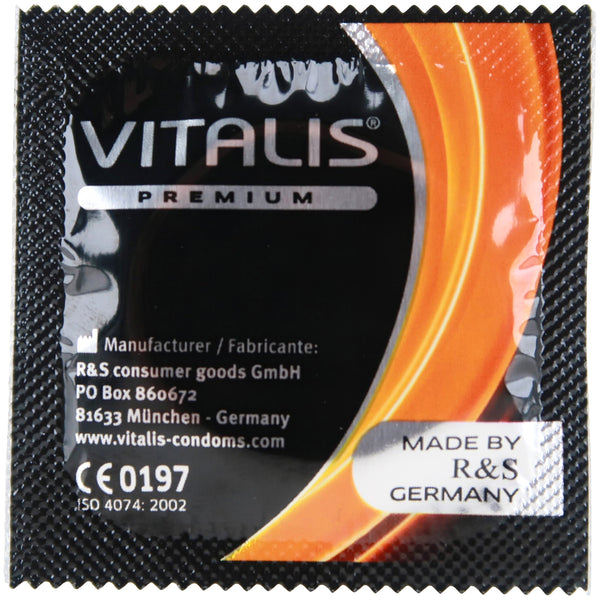 VITALIS Kondomer Ribbed - 10 stk.