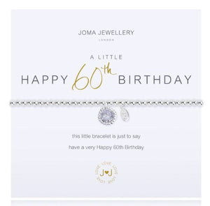 JOMA 60th Birthday Bracelet
