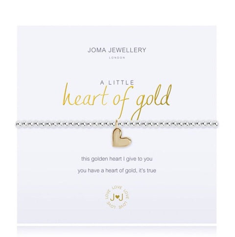 JOMA Jewellery A Little Heart Of Gold Bracelet