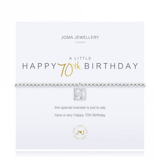 JOMA JEWELLERY 70TH BIRTHDAY BRACELET