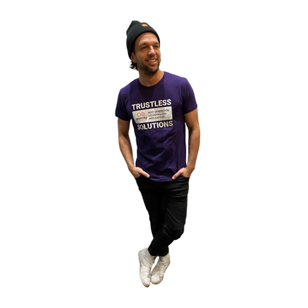 T-shirt Trustless (Purple)