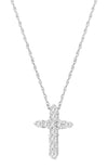 Small Diamond Cross Necklace