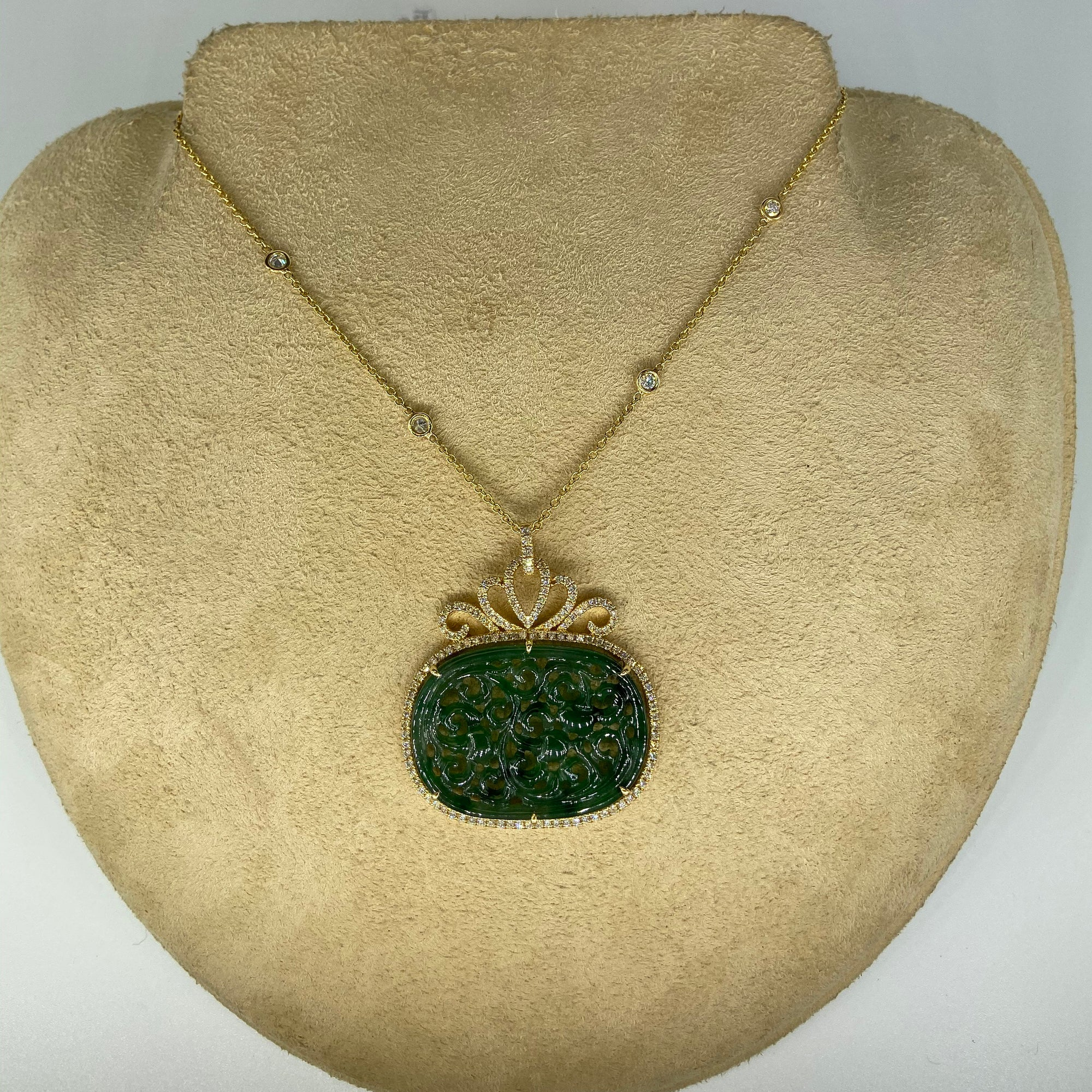 Natural Jade Necklace