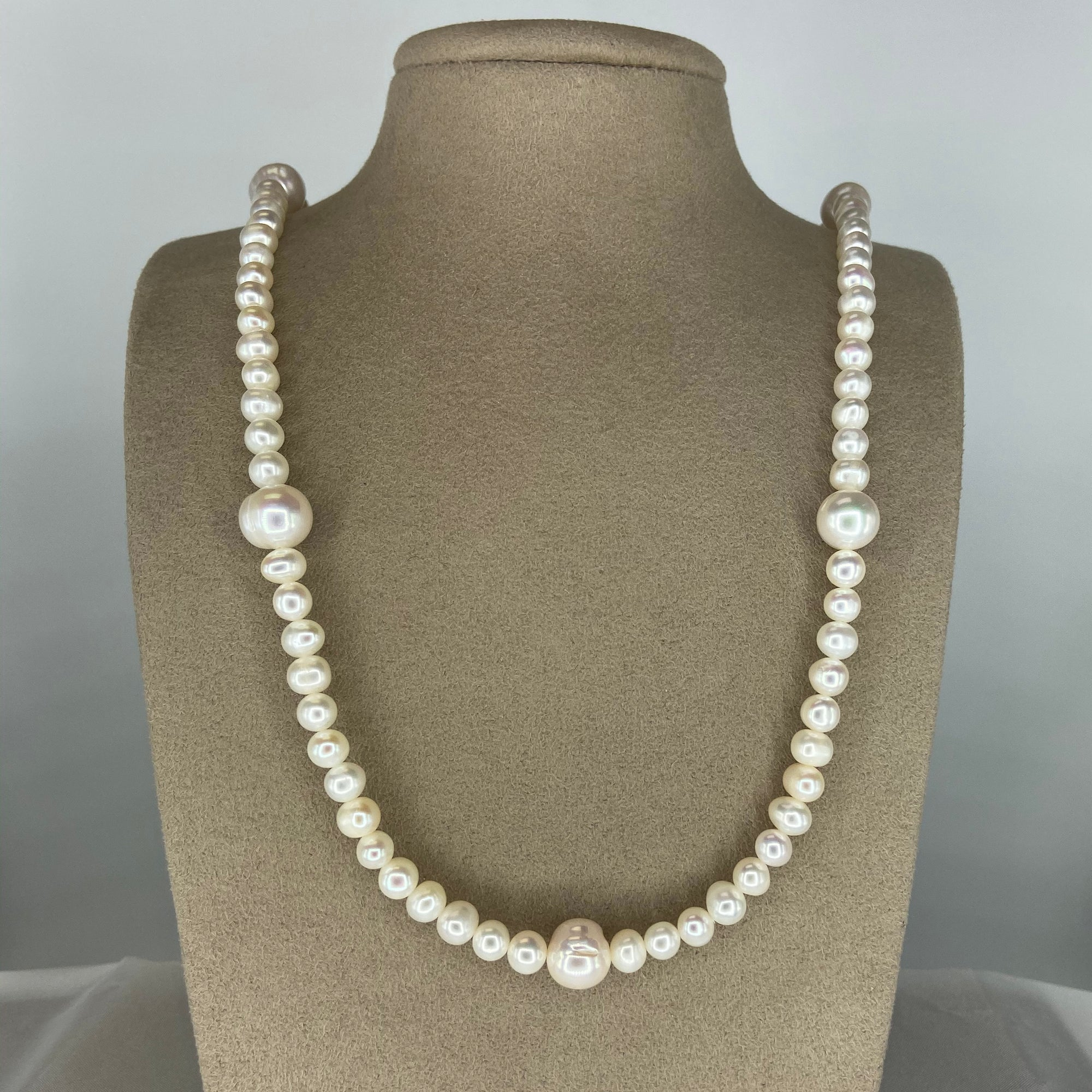 Fresh Water Pearl Necklace (Long)
