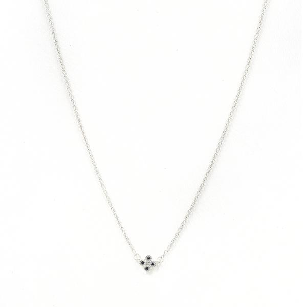 Freida Rothman Mini Clover Pendant Necklace