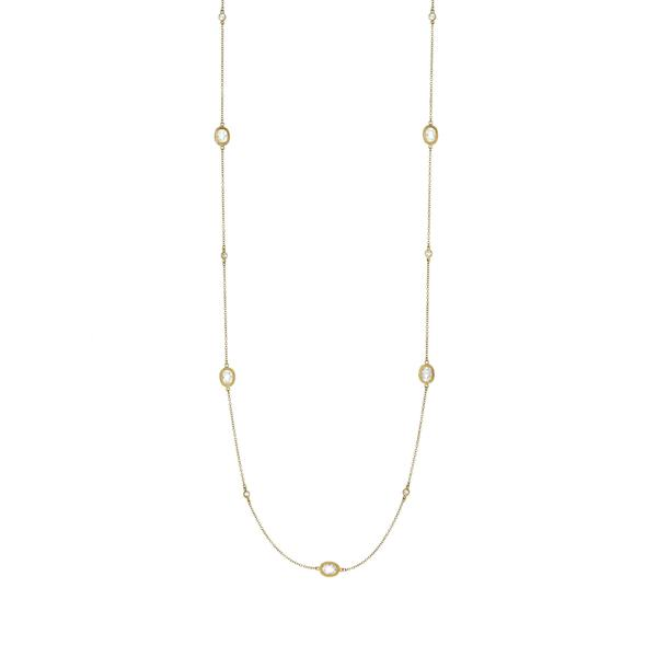 Freida Rothman Signature Raindrop Station Necklace