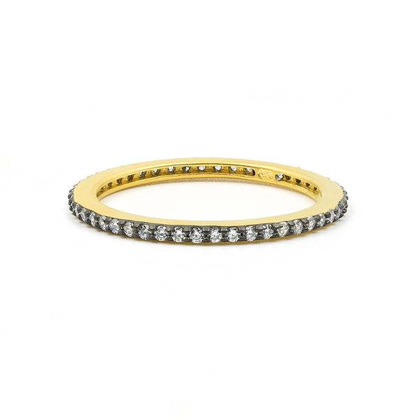 Freida Rothman All Pavé Stack Ring