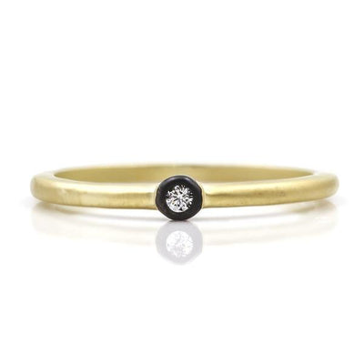 Freida Rothman Simple Bezel Ring