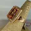 Diamond Ring w/Morganite