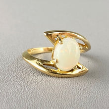 Load image into Gallery viewer, Opal ring in 10k yellow gold