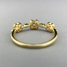 Load image into Gallery viewer, CLEARANCE! Diamond band in yellow gold