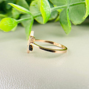FINAL SALE! Star of David ring in rose gold