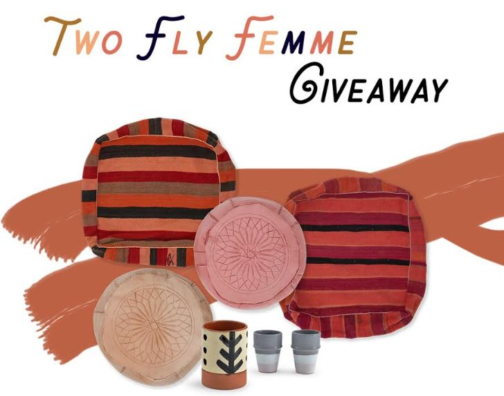 Two Fly Femme Giveaway - 6 weeks in business celebration