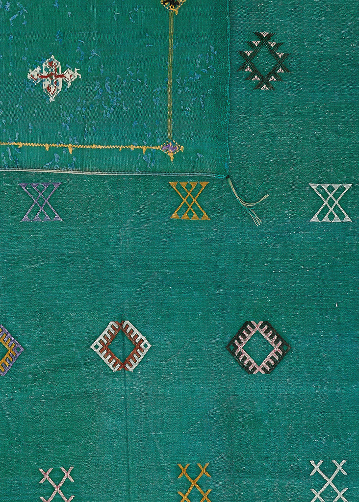 Green with Envy - Kilim Moroccan Rug