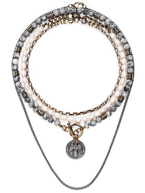 Fredrick Prince Arezzo Statement Necklace