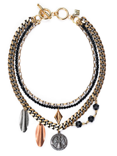 Asunta Artistic Statement Necklace