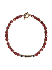 Fredrick Prince Carnelian Sunset Statement Necklace 2/3