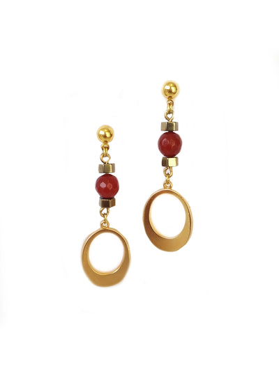 Fredrick Prince Carnelian Earrings