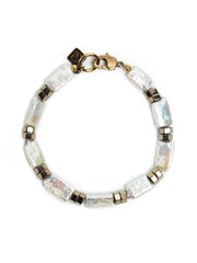 Fredrick Prince Saint-Tropez Rectangle Pearl Anklet