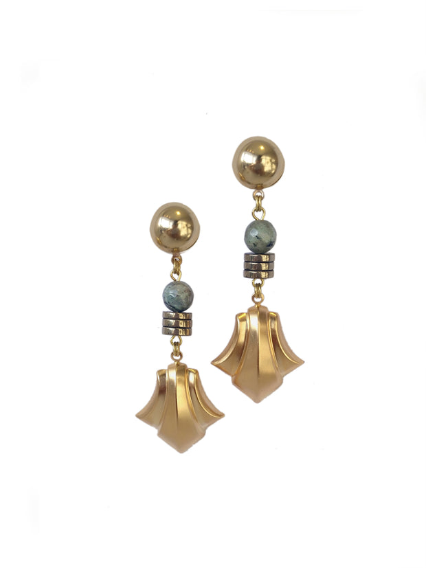 Fredrick Prince Labradorite Fleur Earrings