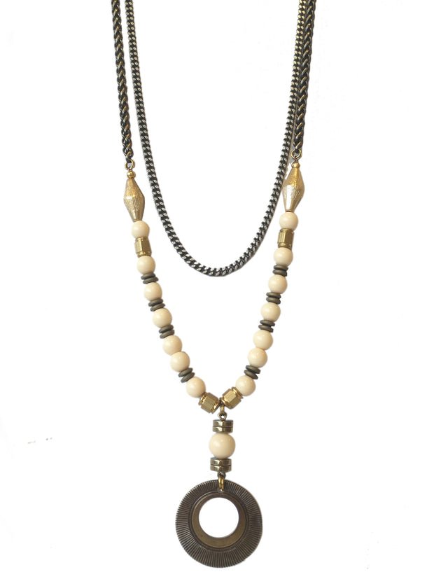 Fredrick Prince De La Creme Patty Necklace Long