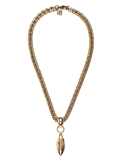 Fredrick Prince Gold Chain with pendant