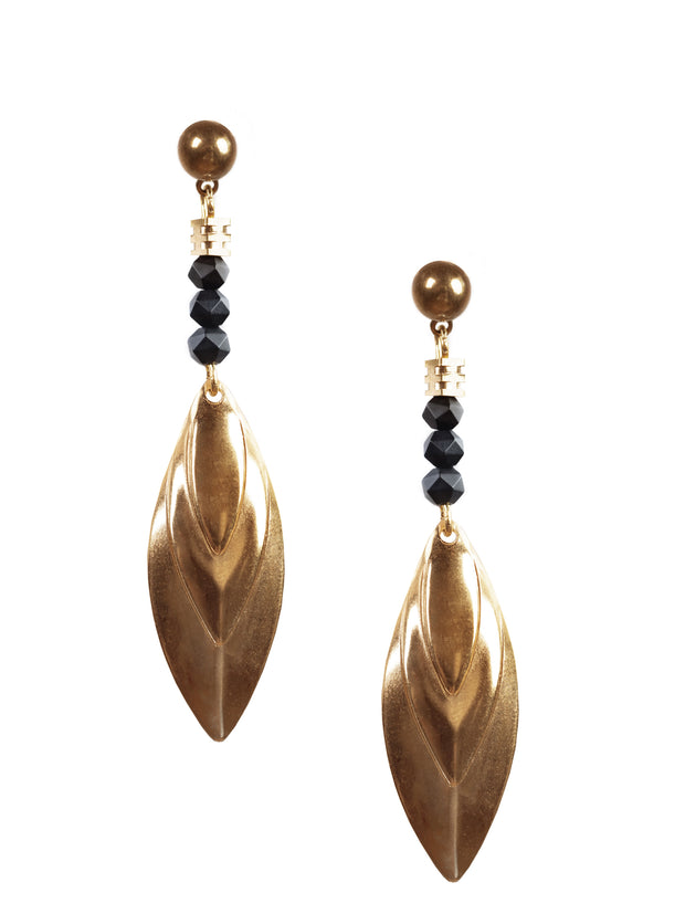 Sienna Black Onyx Earrings