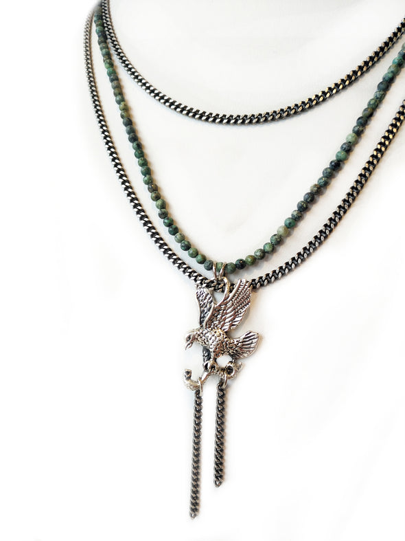 Fredrick Prince Soaring Eagle Necklace
