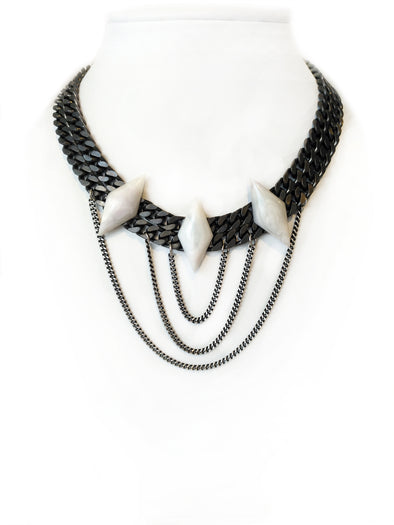 Luna modern mystic Statement Necklace