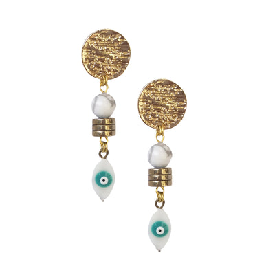 Fredrick Prince Evil Eye Earrings