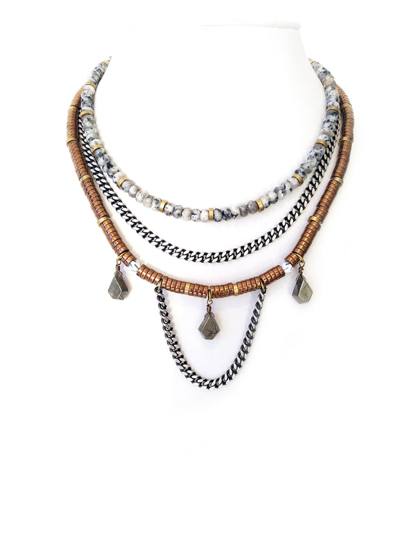 Fredrick Prince Constantia Statement Necklace