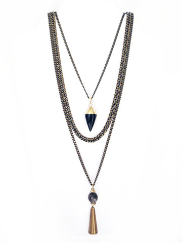 Fredrick Prince Layering Necklace with pendant