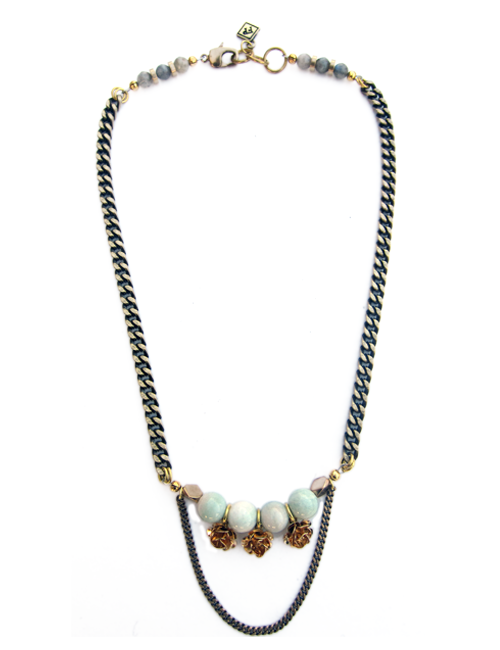 Fredrick Prince Jade Flower Necklace
