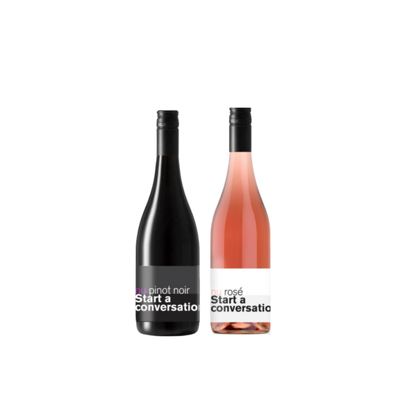 Mixed 6 pack (Rose + Pinot Noir)