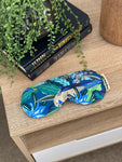 Eye Mask - Rosella Waratah Navy