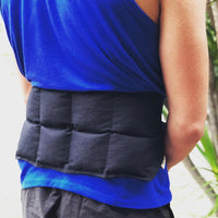 Back Wrap Heat Bag - Black