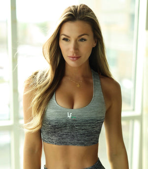 Active Two-Tone Sports Bra