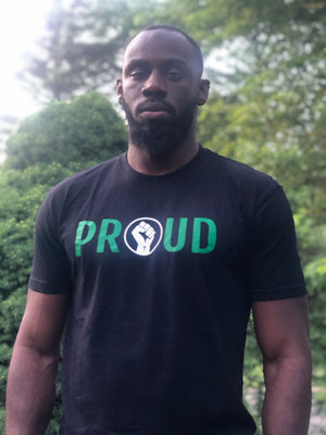 Open image in slideshow, Black & Proud Tee