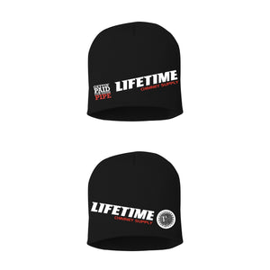 "NEW!! Fall LIFETIME ""Gettin' Paid For Good Pipe"" BLACK 8 Inch Knitted Beanie"