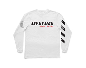 Fall 2018 WHITE Thermal Long Sleeve Shirt
