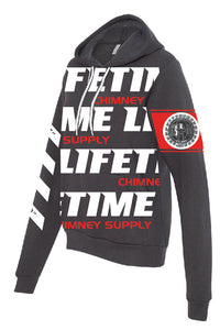 "NEW!! 2019 Fall LIFETIME Premium CHARCOAL ""Gettin' Paid For Good Pipe"" Hoodie Sweatshirt"