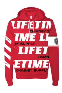 "2019 Fall LIFETIME Premium RED ""Gettin' Paid For Good Pipe"" Hoodie Sweatshirt"