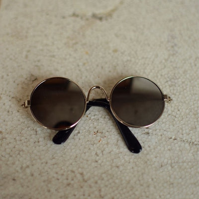 Pet Sunglasses Round Type