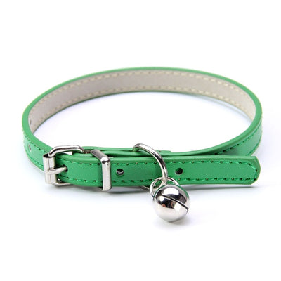 Soft PU Leather Pet Collar