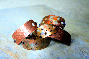 RECYCLED METAL WORKS JEWELRY